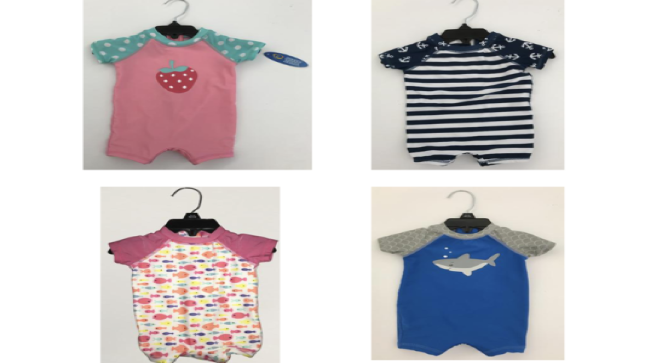 8f9087ae6e087 Meijer issues recall on children s swimsuits due to choking hazard