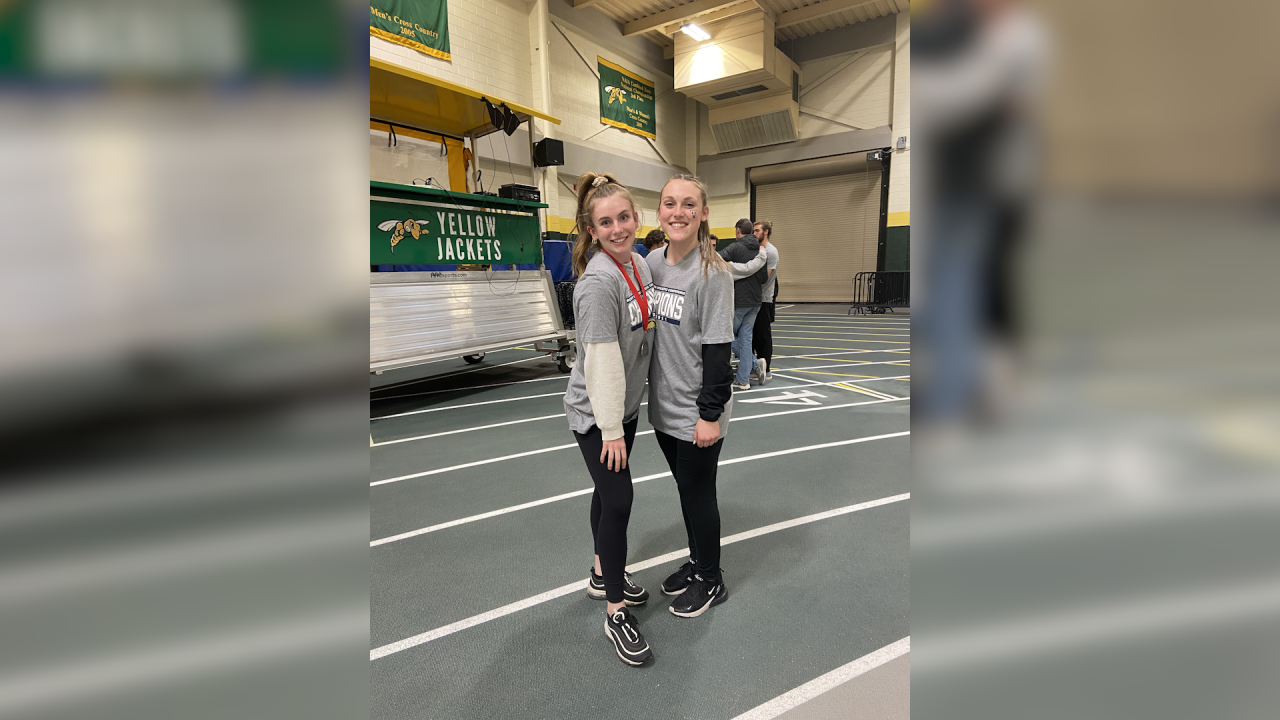 Audrey Bloomquist and Missy Moreni breaking records as Freshmen at UCCS
