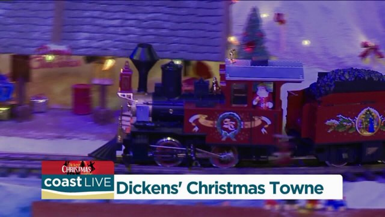 Previewing Dickens' Christmas Towne on Coast Live