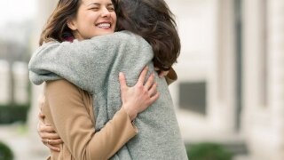 Science confirms what the heart already knows: Hugs really do make you feel better