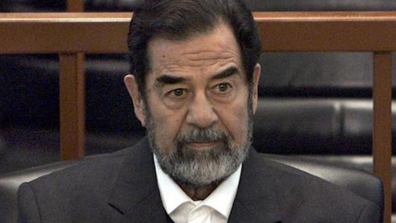 Trump: Saddam killed terrorists 'so good'