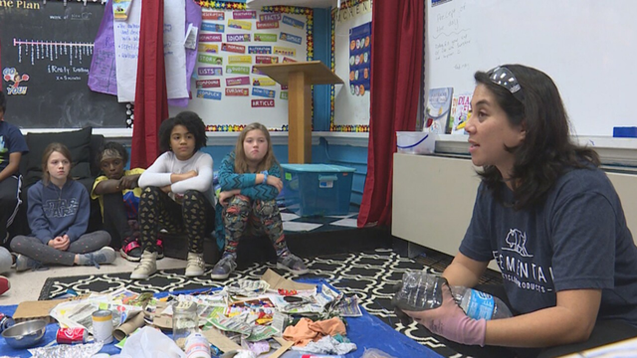 Murfreesboro students learn about recycling