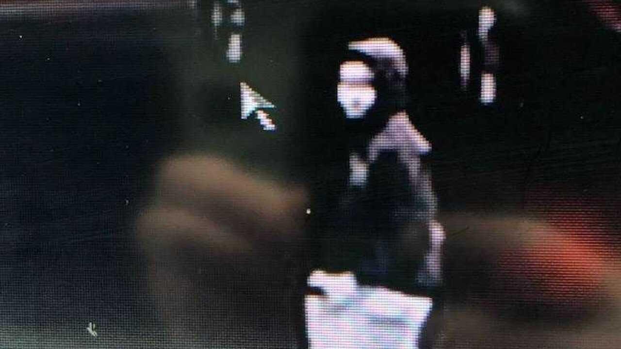 Suspect who stole white mercury milan