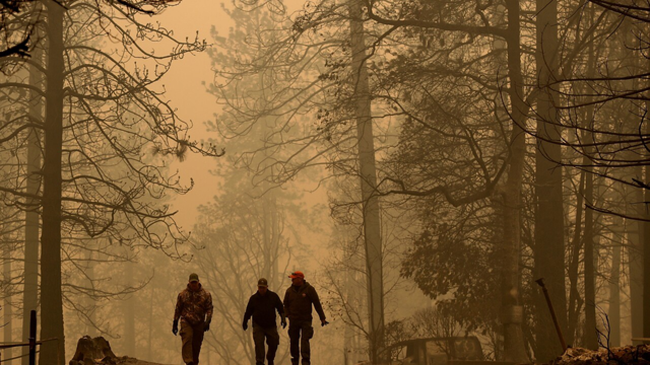 Sheriff: 110 people missing in NorCal fire
