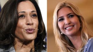 Kamala Harris and Ivanka Trump