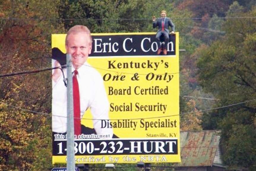 Eric Conn billboard