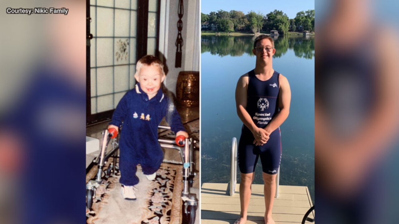 Florida athlete strives to be the first person with down syndrome to complete an ironman