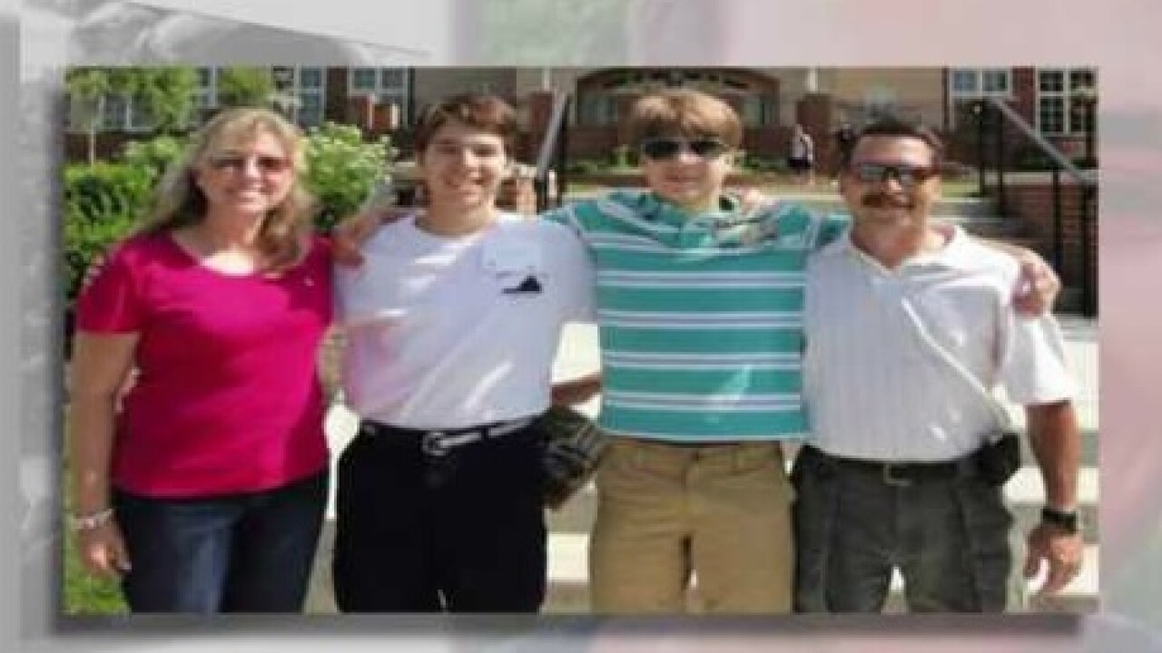 Vigil honors Chesapeake Police officer and son killed in doublehomicide