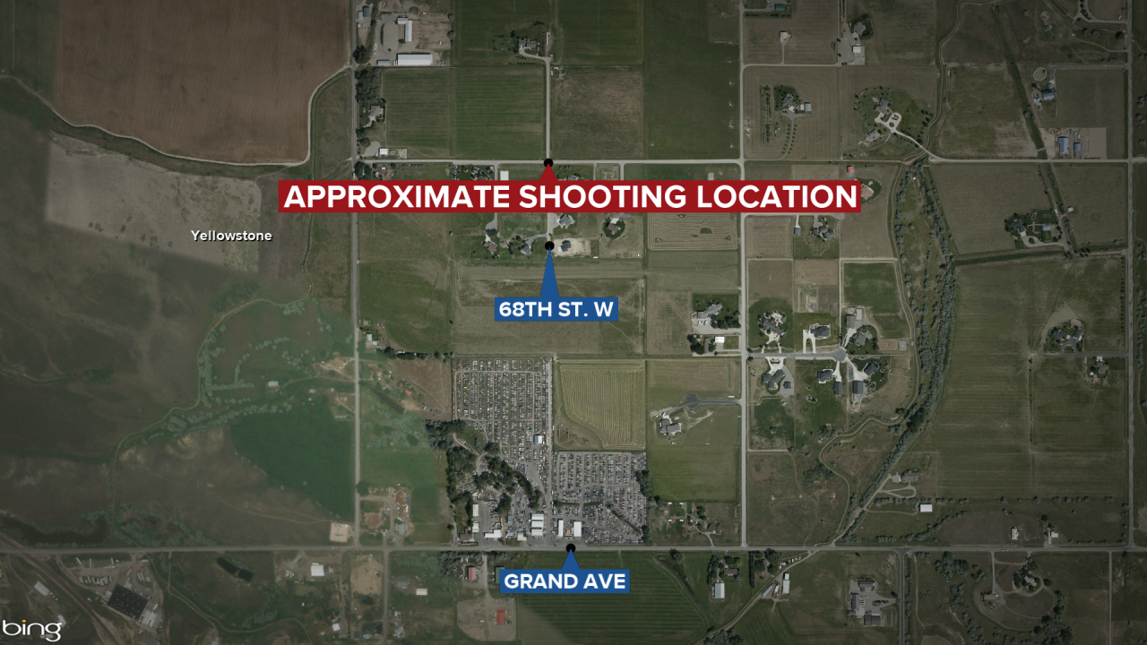 One person injured in shooting west of Billings Saturday