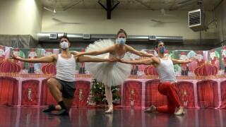 Nutcracker dancers