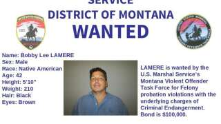 Wanted in Montana: BOLO Alert issued for Bobby Lee Lamere