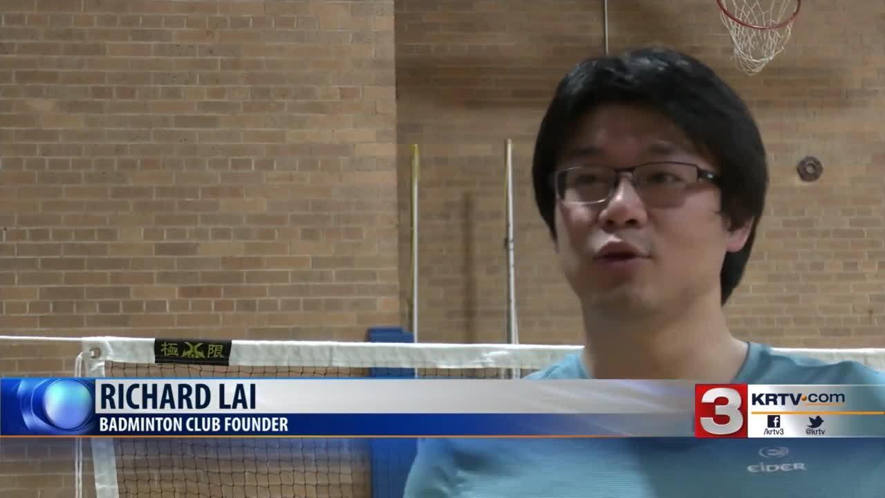 Great Falls Sports Club starts badminton on Saturdays