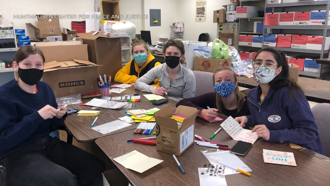 Carroll College students make a difference through Service Saturdays