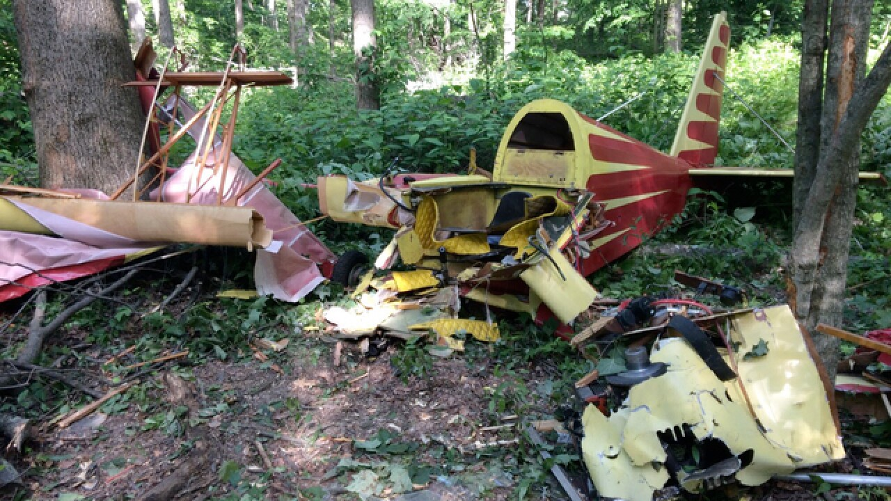 Small plane crashes in Batesville, Ind.