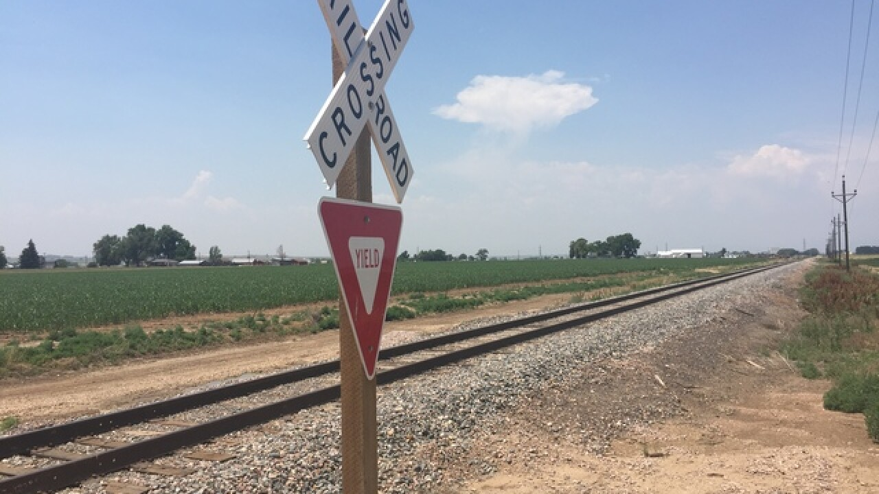 11 railroad crossings across Colorado await safety upgrades