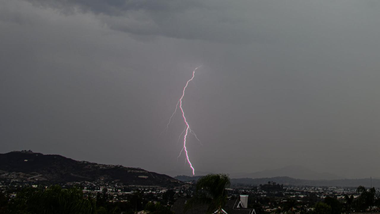 Lightning in Santee
