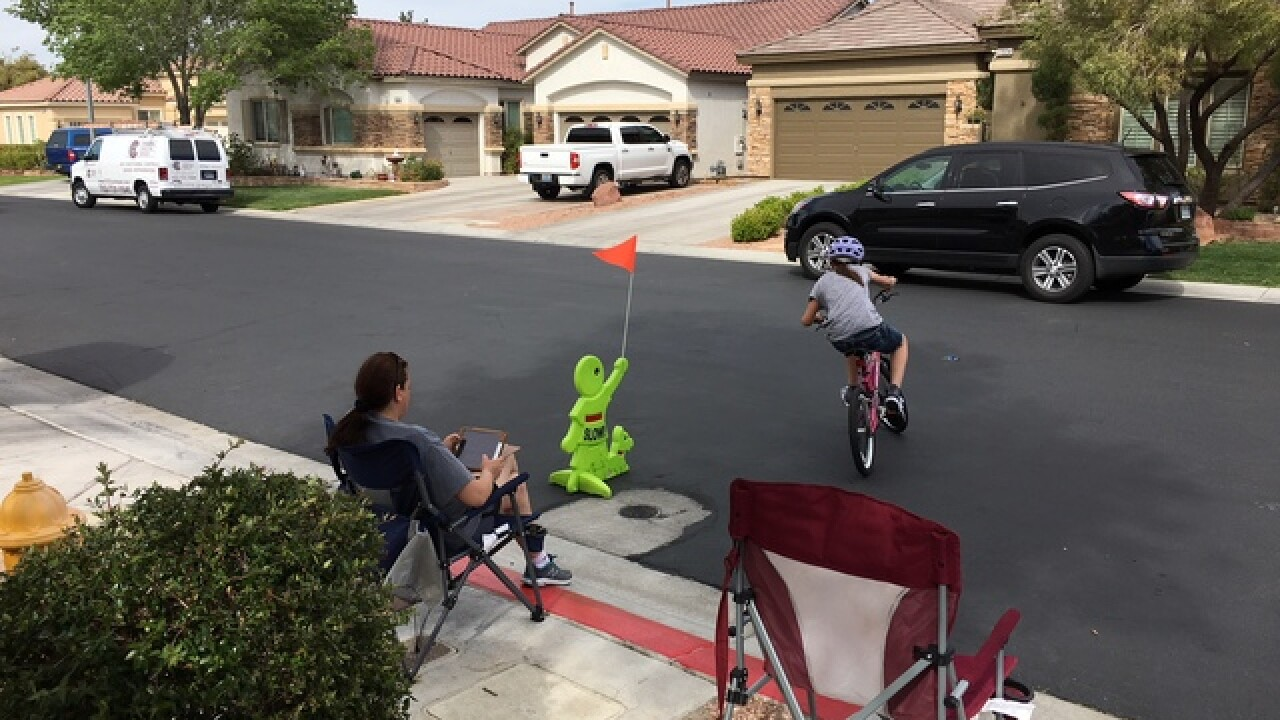 Las Vegas mom says HOA has 'no playing' rule