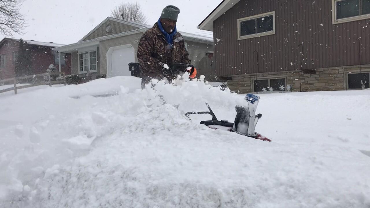 Snow blower in Racine