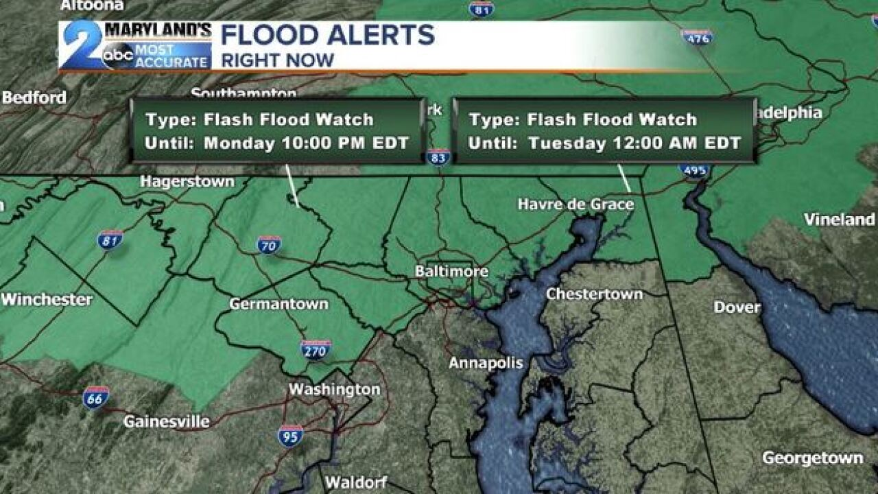 Flood Watches Posted