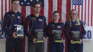 Four Team USA Air Rifle participants shots their way to Tokyo 2020