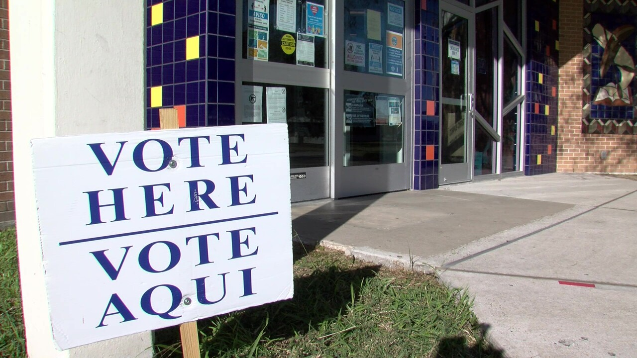 Voting sign