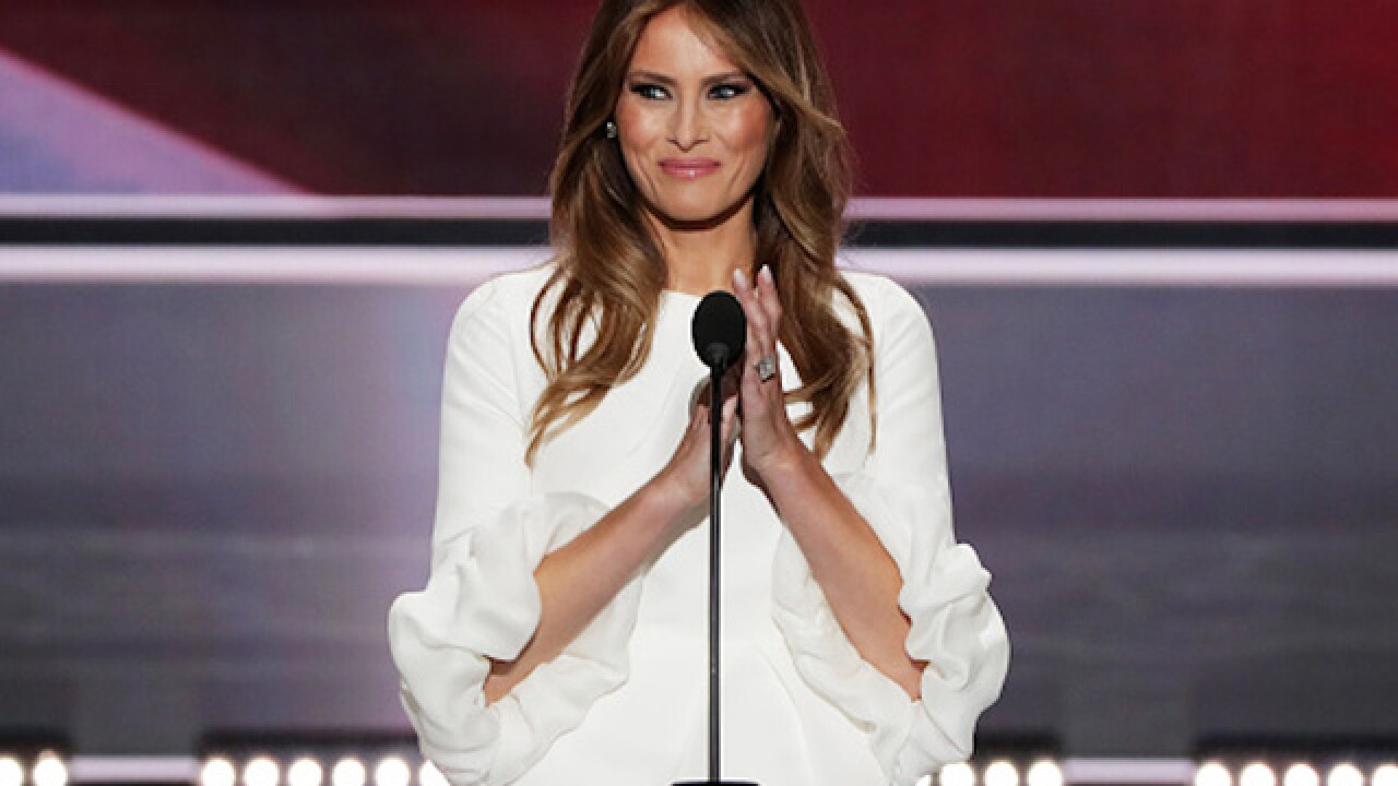 Melania Trump far from the first accused of borrowing a politician's speech
