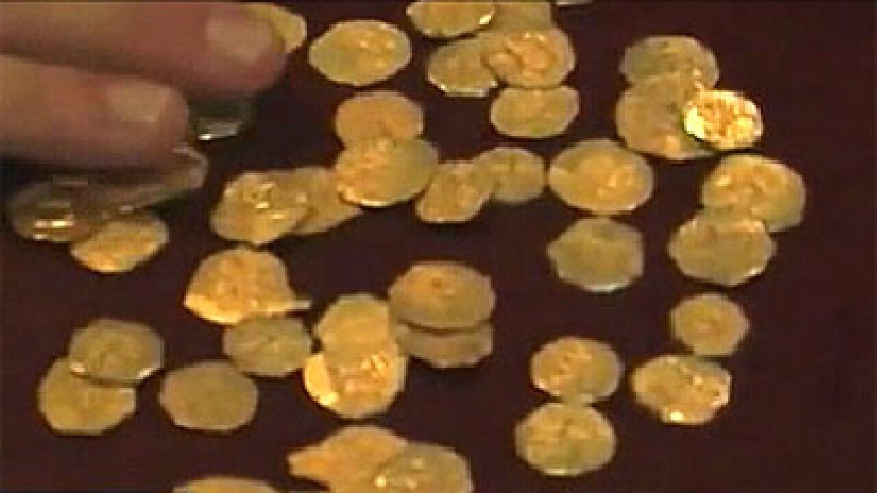 Gold! Treasure hunters find  $250,000 in centuries-old coins