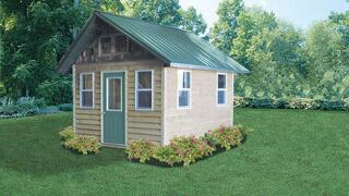 """Menards Home Improvement Topic: """"A storage shed is just the ticket!"""""""