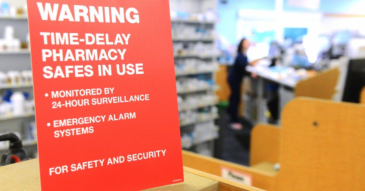 CVS implements time-delay safes in all 318 MI pharmacies