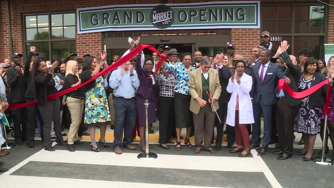 Markel-backed grocery store opens in East End