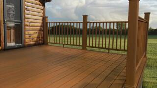 """Menards Home Improvement Topic - """"You'll love your composite deck"""""""