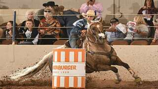 Barrel racer turns up heat at National Western Stock Show Rodeo