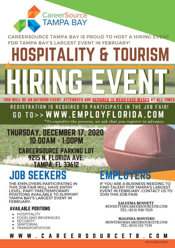 Football Hiring Event