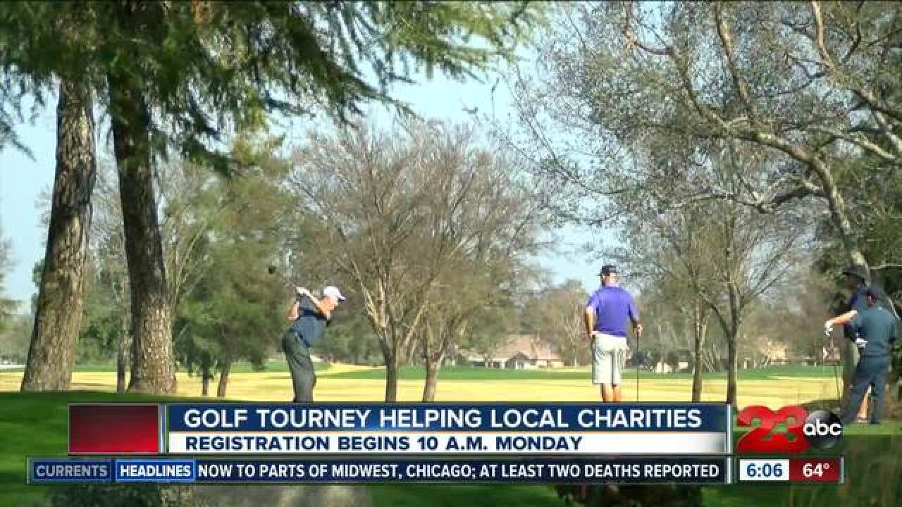 Charity Championship Open starts Monday