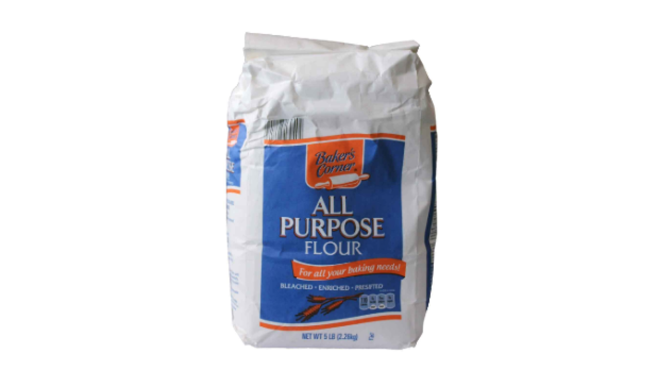 ALDI recalls Bakers Corner All Purpose Flour