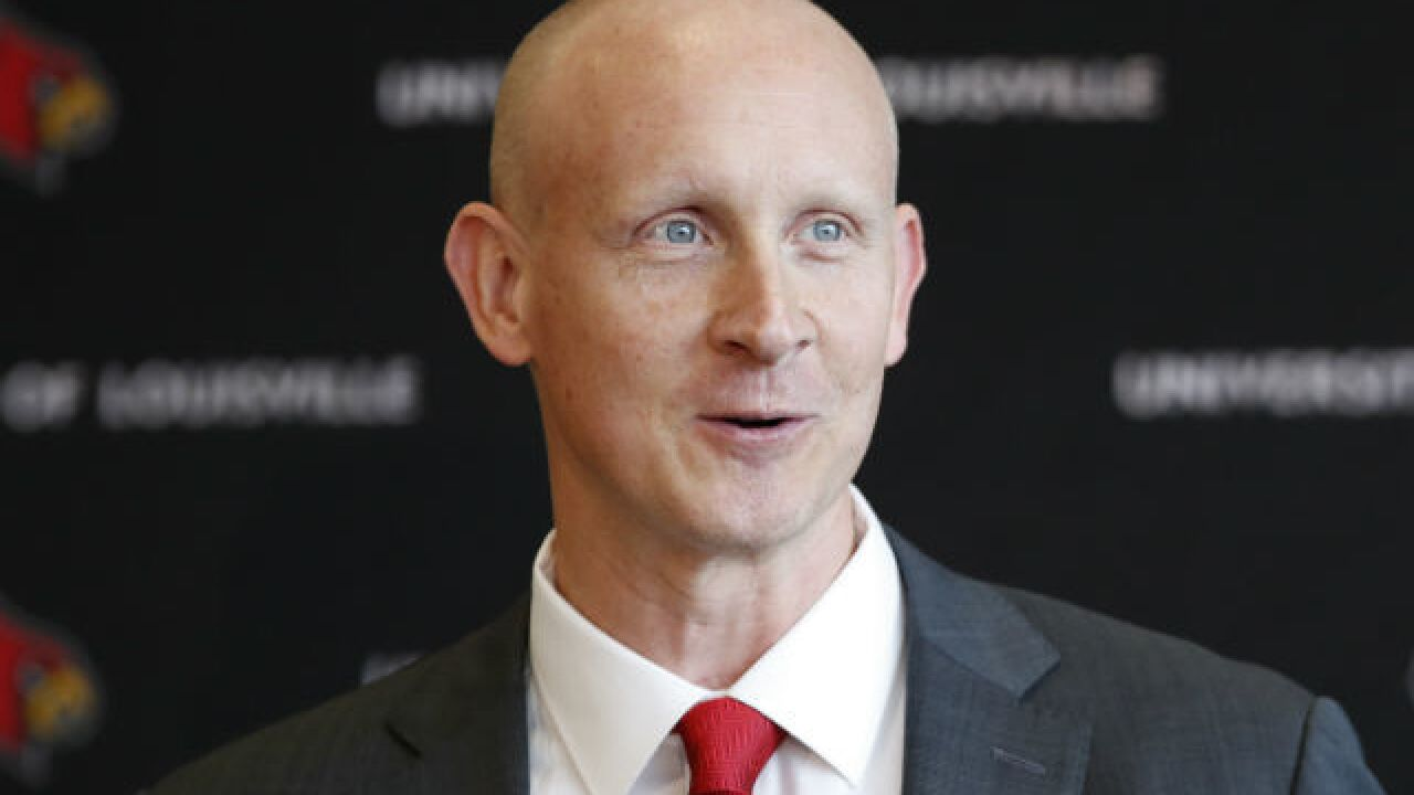Louisville counting on Mack after scandals