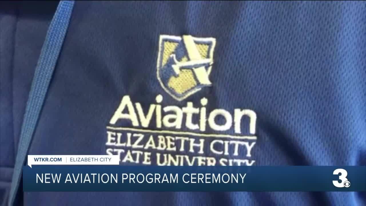 Elizabeth City State University aviation program kick-off (August 27).jpg