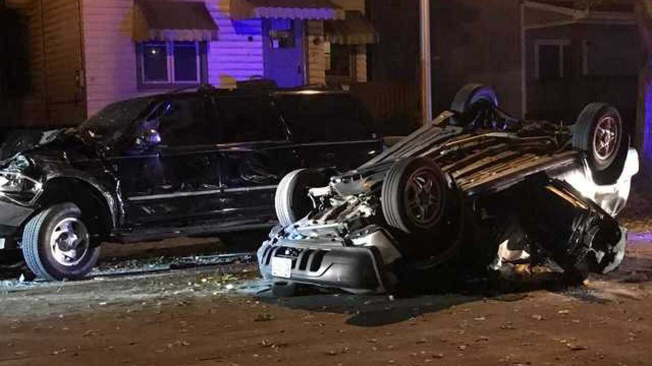 MPD: 1 dead, 2 injured in overnight chase, crash