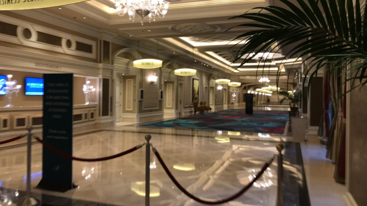 Las Vegas is getting busier as visitors are heading to Sin City for Spring break. These are photos as seen on Monday, March 15, 2021.
