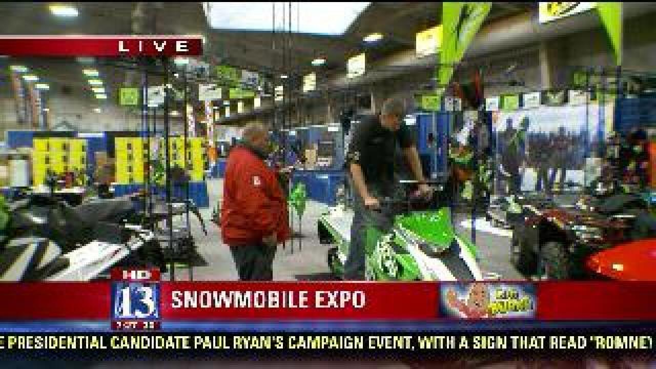 Expo holds seminars on preparing winter recreation gear