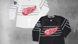 Red Wings release photos of Tyler Bertuzzi's All Star jersey