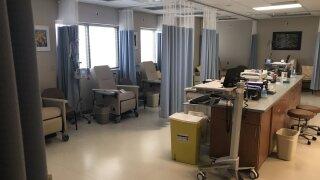 chemotherapy room at Saint Lukes.jpg