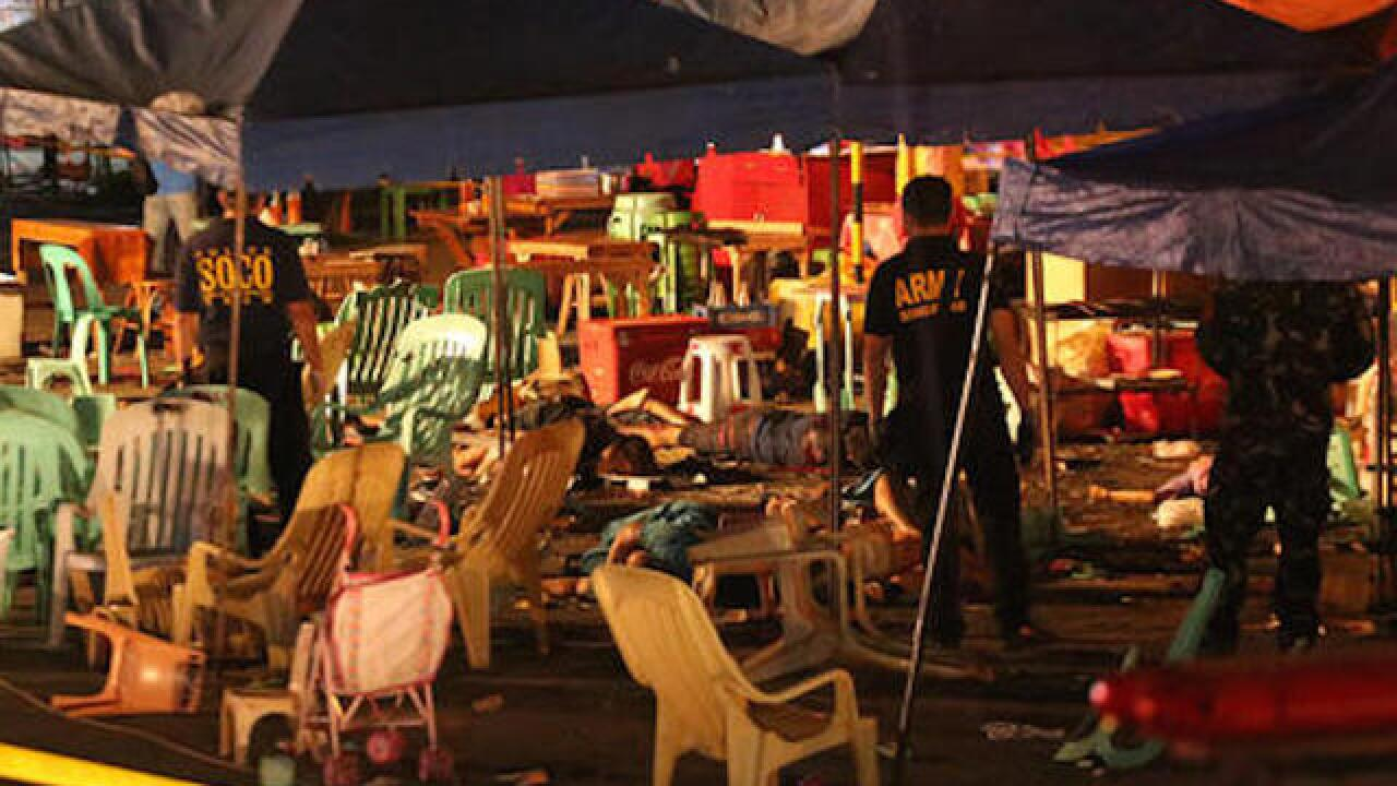 14 dead in Philippines explosion at market