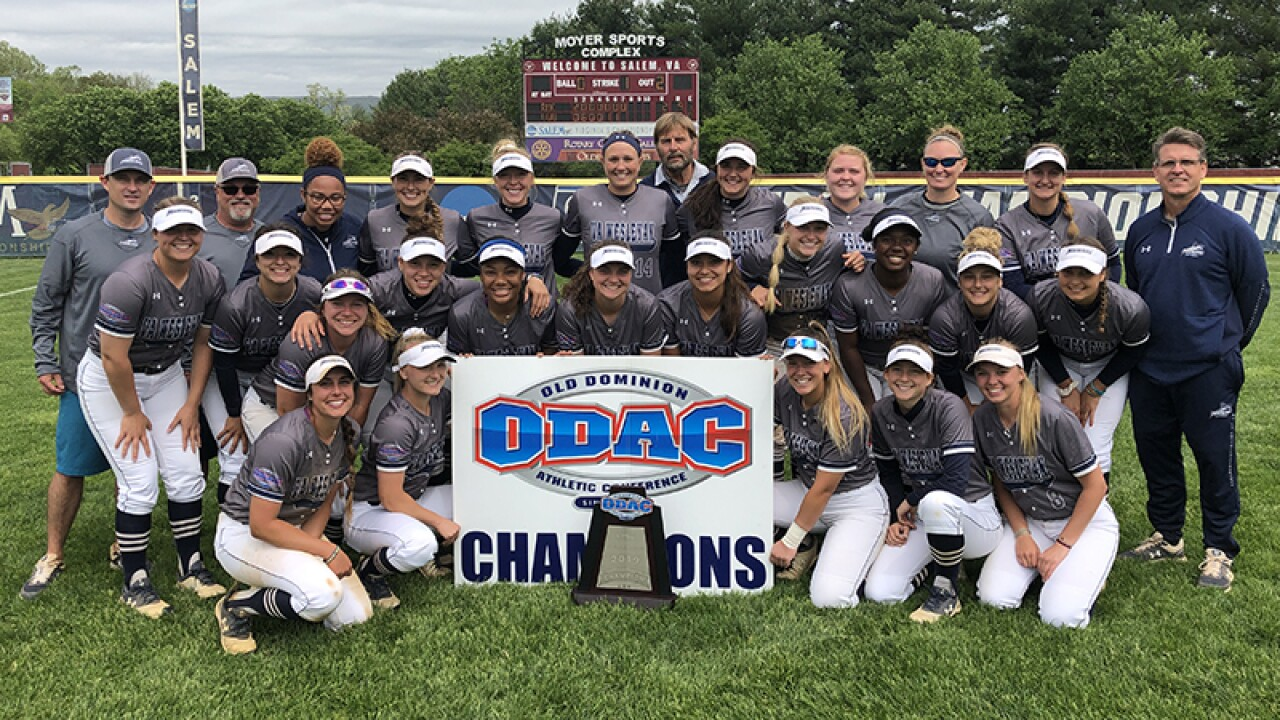 Virginia Wesleyan softball wins fourth straight ODAC title