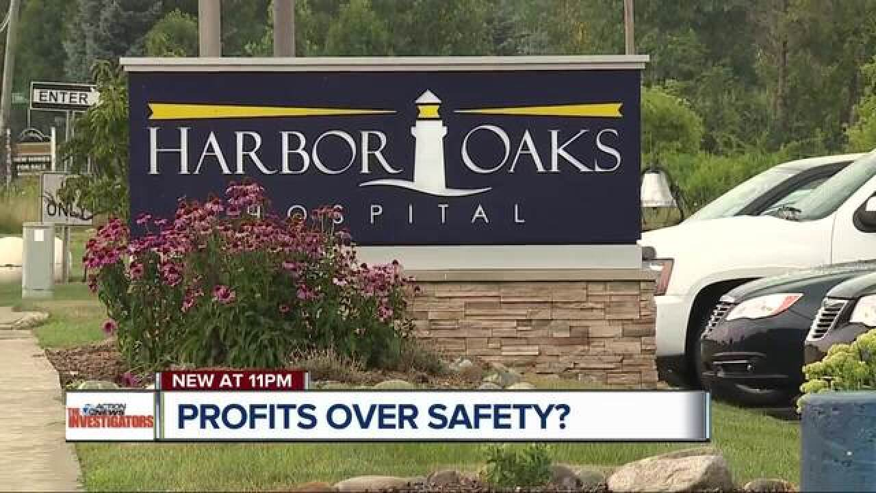 Profits over safety at psychiatric hospital?