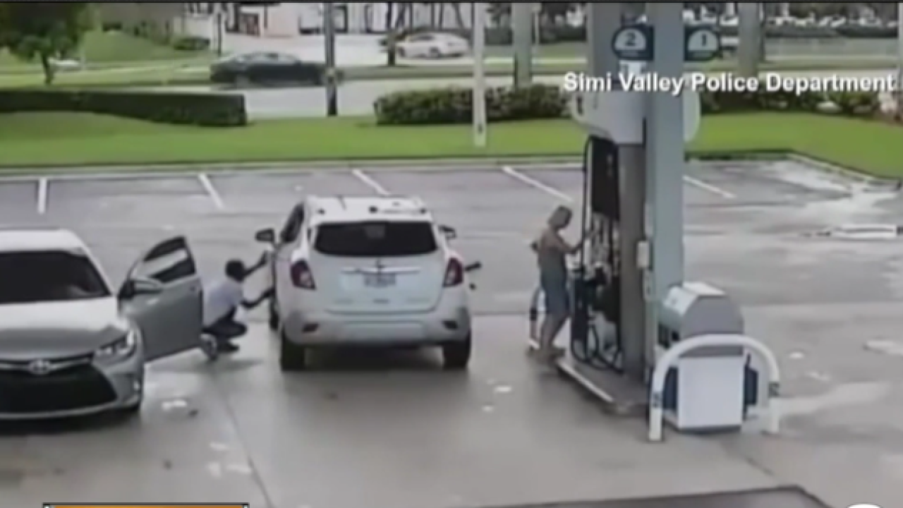 Police: Thieves targeting you at the gas station