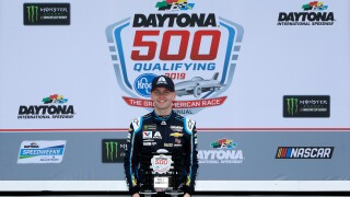 William_Byron_Monster Energy NASCAR Cup Series 61st Annual Daytona 500 - Qualifying