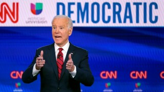 United Auto Workers union backs Democrat Biden for president