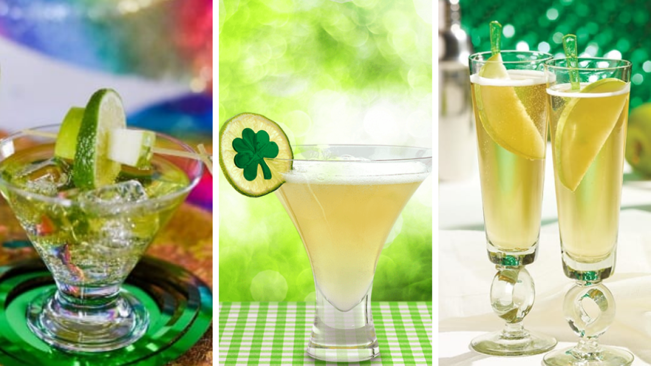 6 St. Patrick's Day cocktail recipes to try instead of green beer