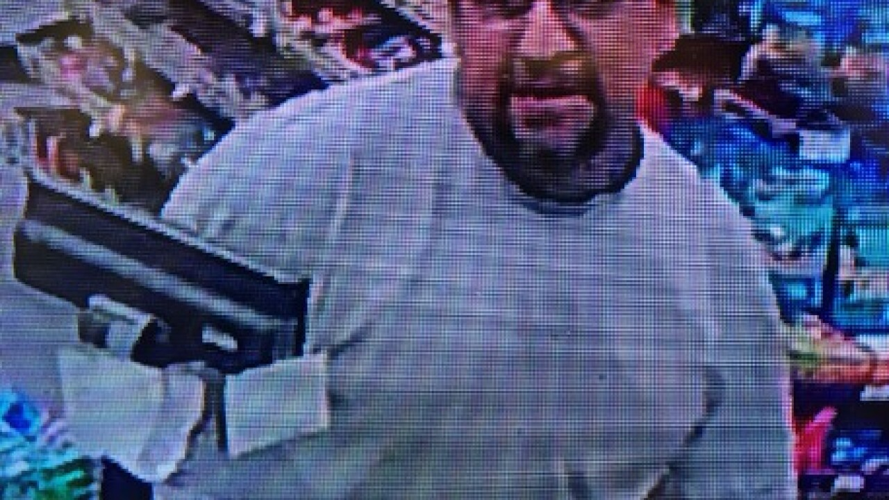 BPD searching for suspected fuel thief